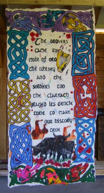 Muir of Ord Felt Banner