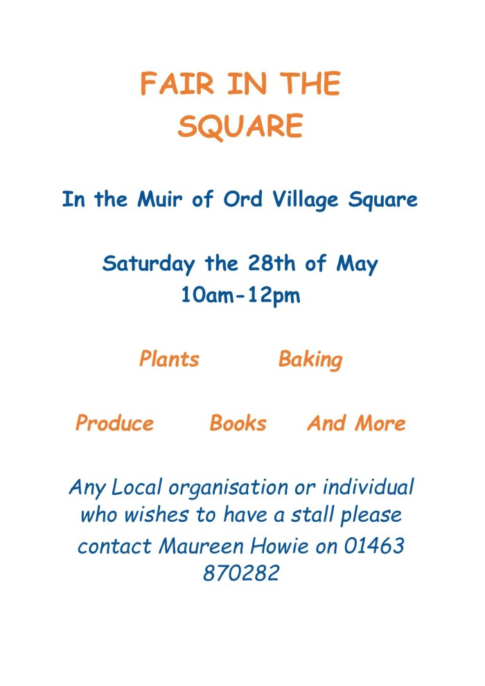 Fair in the Square Poster