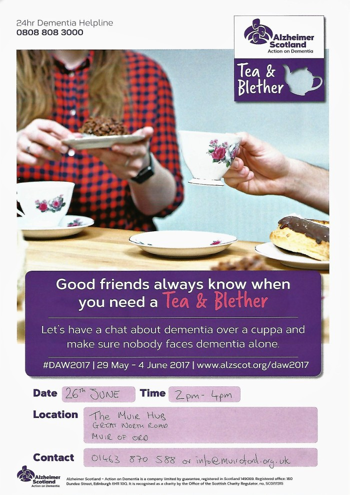 Tea and Blether Poster