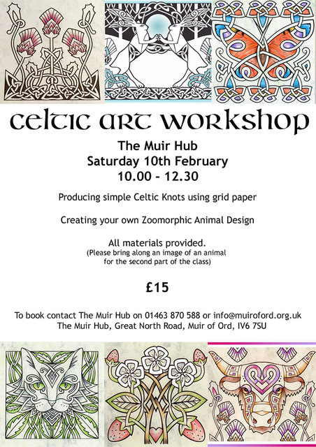 celtic art workshop