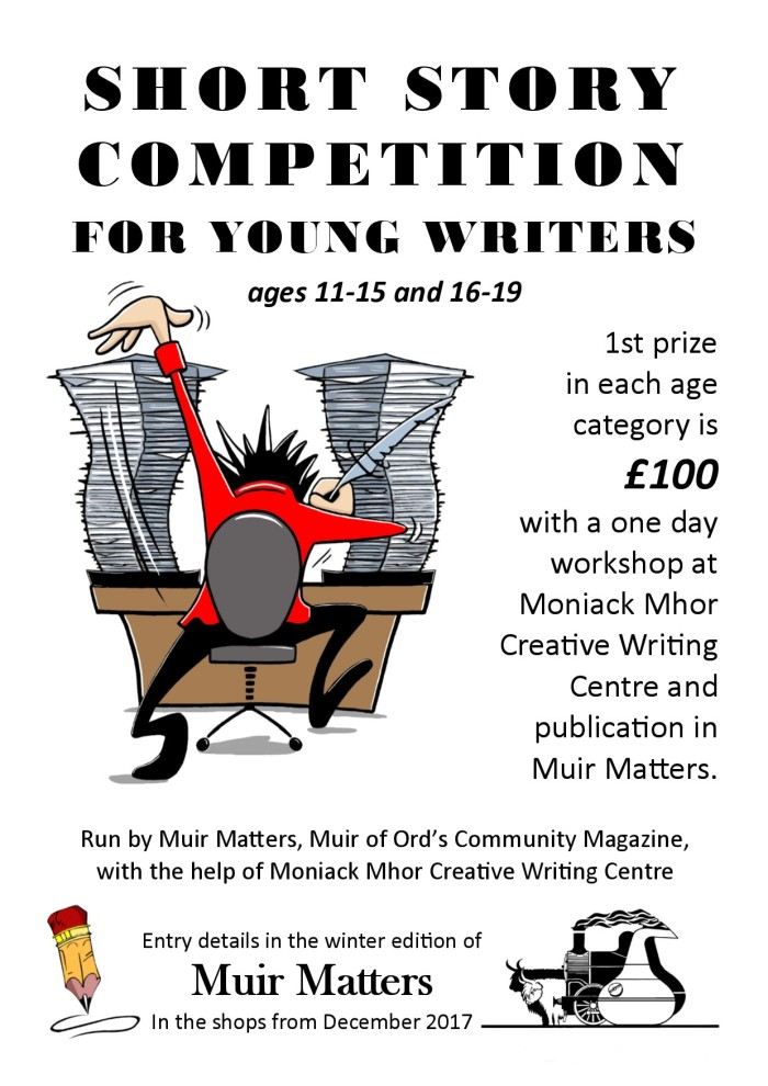 Short Story Competition poster